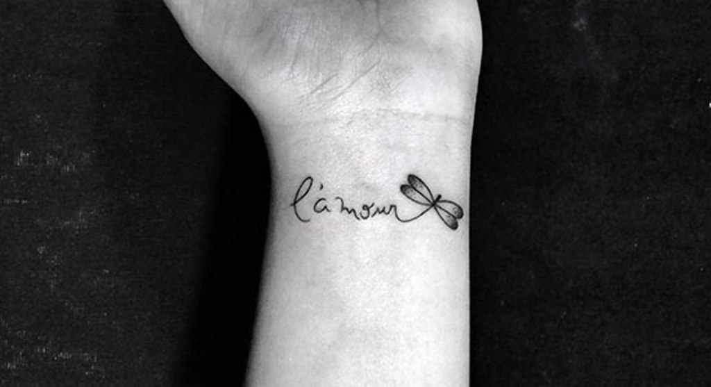 real butterfly tattoos pictures designs ideas - 32 Stylish Wrist Dragonfly Tattoos